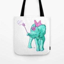 Fairy Elephant Tote Bag