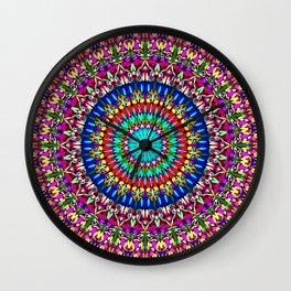 Magic Life Garden Mandala Wall Clock