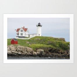 Cape Neddick Lighthouse Art Print