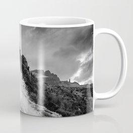 Old man of Storr - waterfall Coffee Mug