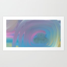 Within These Galaxies Of Mine Art Print
