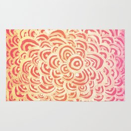Target Abstract Rug
