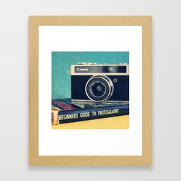 Beginners photography Framed Art Print