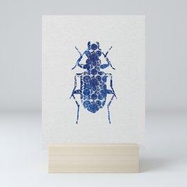 Blue Beetle II Mini Art Print