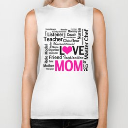 Amazing Do-it-All Mom Biker Tank