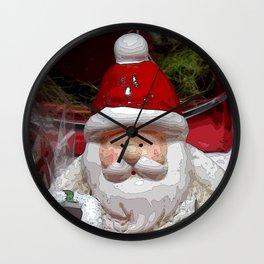 Santa20150902 Wall Clock