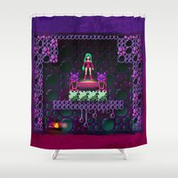 metroid Shower Curtains featuring Metroid - Justin Bailey by likelikes