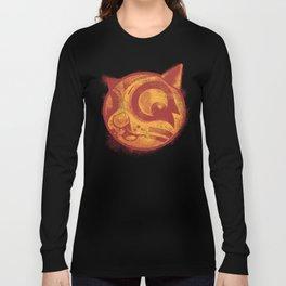 Red cat Rocka Rolla Long Sleeve T-shirt