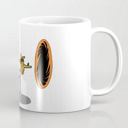Pinocchio playing Portal Coffee Mug