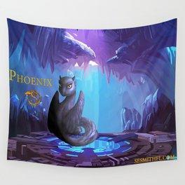Dragonlings of Valdier: Phoenix Wall Tapestry