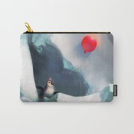 Heart Penguin Carry-All Pouch