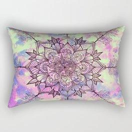 Galaxy Tree Mandala Rectangular Pillow
