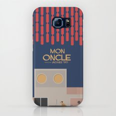 Mon Oncle - Jacques Tati Movie Poster Galaxy S7 Slim Case