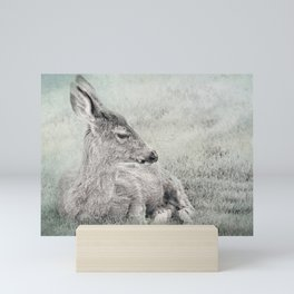 Sweet Young Deer Mini Art Print