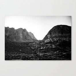 Granite Saddle Canvas Print
