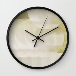 Mimosa in the Morning Wall Clock