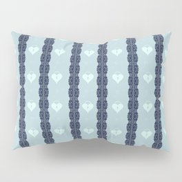 Blue Locket Pillow Sham