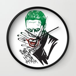 Joker_Jared Leto_Suicide Squad Wall Clock