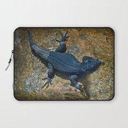 Black Girdled Lizard - Cape Point Reptilian Daze  Laptop Sleeve
