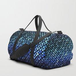 Crystal Bling Strass Blue G312 Duffle Bag