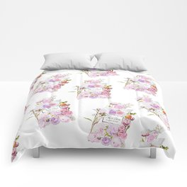 Parfum Perfume Fashion Floral Flowers Blooming Bouquet Comforters