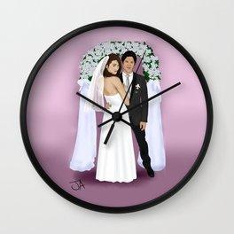 Dream Wedding Wall Clock