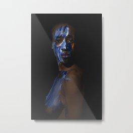 Colors of Women, N.L. Metal Print