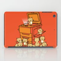 army iPad Cases featuring The Original Copycat by Picomodi