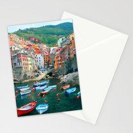 Italy. Cinque Terre marina Stationery Cards
