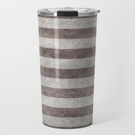 US Flag in vintage retro style Travel Mug