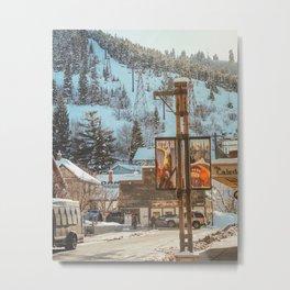 Spring in Park City, Utah Metal Print