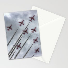 Red Arrows Stationery Cards