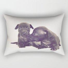 little dog II Rectangular Pillow