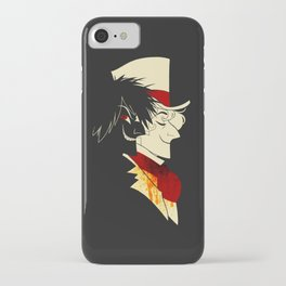 Jekyll and Hyde Silhouettes iPhone Case