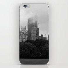 fog in city... iPhone Skin