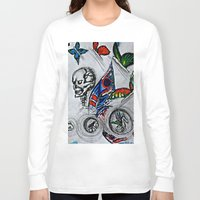 cycle Long Sleeve T-shirts featuring cycle by Maithili Jha