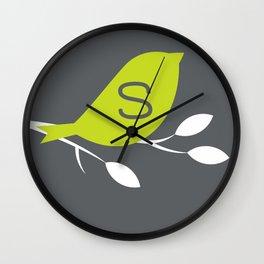 Steffi Wall Clock