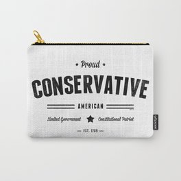 Proud Conservative American Carry-All Pouch