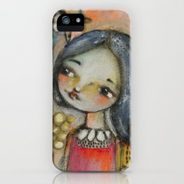 Love grows here iPhone Case