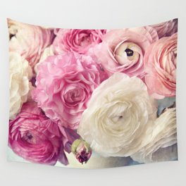 shades of pink Wall Tapestry