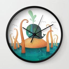 That's No Island! Wall Clock