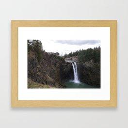 Snoqualmie Falls Framed Art Print