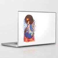 bioshock infinite Laptop & iPad Skins featuring Bioshock by Vaahlkult