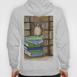 Owl the Librarian Hoody