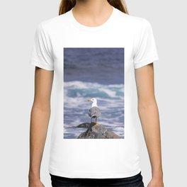 yellow-legged gull T-shirt