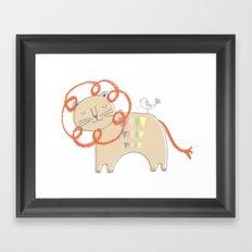 Lion2 Framed Art Print