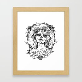 Day of the Dead Mexico Framed Art Print