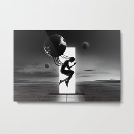 生まれ変わり | Reborn Metal Print