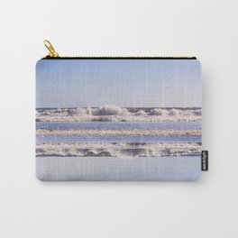 Intertwined waves Carry-All Pouch