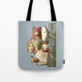 kawaii squad sloth catcorn unicat and friends! Tote Bag
